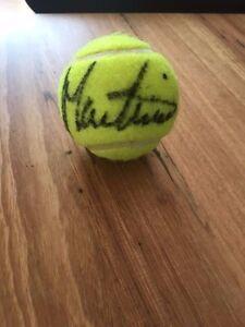 Signed Tennis Ball - Martina Navratilova - Winner of 18 Grand Slams