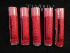 "AVON- ""STRAWBERRY""  Moisturizing Lip Treatment Balm/Balms (LOT OF 5 TUBES)"