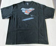 MLB BALTIMORE ORIOLES Baseball Adult Men's 2XL Black T-Shirt Genuine Merch EUC!