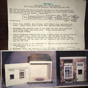 Dollhouse Miniature Assembly Kit - The Rose By Sue Herber