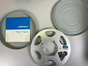 AMPEX Test Tape Reproduce Alignment   7.5 IPS full track  1/2 tape