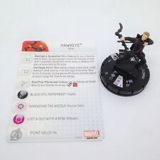 Heroclix Age of Ultron Movie set Hawkeye #009 Gravity Feed figure w/card! Rare