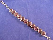 Pulseras de joyería amatista plata