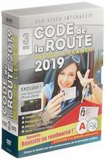 Code De La Route 2019 - 3 DVD [DVD Interactif] NEUF FR