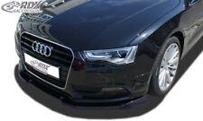 RDX Spoilerlippe für Audi A5 Coupe 8T Cabrio 8F ab Bj. 11 Schwert Front Ansatz