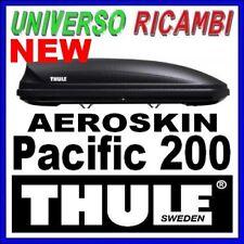 BOX TETTO PORTATUTTO AUTO THULE Pacific 200 M NERO AEROSKIN 410 lt DOPPIA APERTU