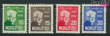 Norway 163-166 (complete issue) Volume 1932 completeett with hinge 193 (9349354