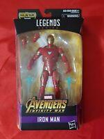 "Marvel Legends Avengers Infinity War IRON MAN 6"" Action Figure BAF Thanos MIB"