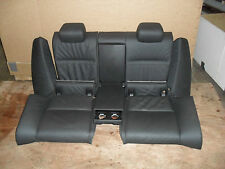 BMW 335D E92 Coupe - Complete Leather Rear Seats & Arm Rests - genuine BMW part