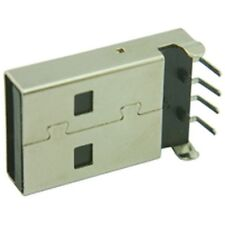 PCB USB Plug Connector Type A Surface Mount (Pack of 3)