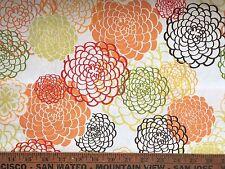 "Cotton Quilt Fabric ""Cream Floral Explosion"" Fresh Fusion Legacy Studio  BTHY"