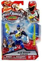 Ultra Rare Power Rangers Dino Super Charge Blue Ranger Action Hero - Tracked P&P