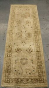 Handmade wool oriental zigler runner 243 cm x 80 cm