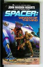 SPACER: WINDOW OF THE MIND by Roberts, Ace sci-fi pulp vintage pb Hescox art
