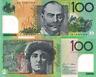 Australia 100 Dollars Banknote, 2014, P61, UNC, Polymer