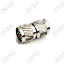 N type male to male adapter barrell connector Converter