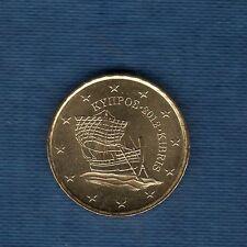 Chypre - 2012 - 10 centimes d'euro - Pièce neuve de rouleau -