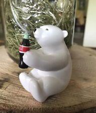 Mini Coca-Cola Polar Bear Collectibles Brand New Never Used Vintage