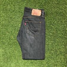 LEVIS 501 Mens Jeans 33 x 30 Black | Red Tab Straight Leg