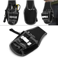Mini Electrician Waist Pocket Belt Pouch Bag Screwdriver  Holder Kit Tool Bag
