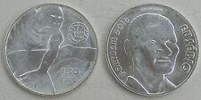 7,5 Euro Portugal 2016 Eusebio Si / Ag unz