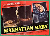 T36 Fotobusta Manhattan Baby Lucio Fulci Christopher Connelly Martha Taylor 2