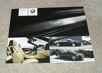BMW 6 Series Coupe & Convertible Individual Brochure 2008