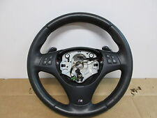 2013 BMW 335is E92 #1018 Thick M-Tech 3 Spoke Steering Wheel Dimpled Leather