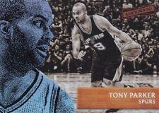 Tony Parker 2016-17 PANINI aficionado Basket Cox, #34