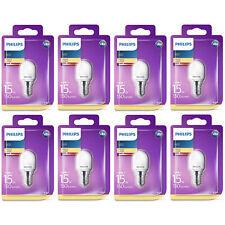 8 x Philips LED T25 Frosted E14 Edison 15W Appliance Fridge Light Bulbs 150Lm