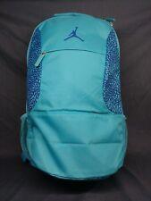 Nike Air Jordan AeroFly Mania Backpack Laptop Sleeve Turquoise Black FLOOR  MODEL 806eecb1ccb03