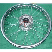 "NEW CHROME WHEEL 18""-2,15 - DISC BRAKE  - JAWA 350 (639,640) + ČZ 175,350"
