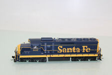 Atlas Master h0 US Élancé SD 24 Santa Fe 947 NEUF dans neuf dans sa boîte (sl341)