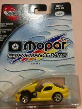 Hotwheels Mopar performance parts Dodge Viper 1:64 scale