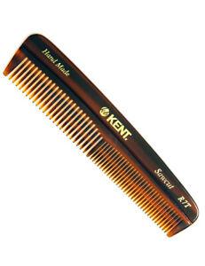 Kent R7T Handmade Mens Sawcut Tooth Pocket Hair Beard Styling Comb 143mm