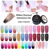UR SUGAR 15ml Thermal Quick Builder UV Gel Polish Nail Tips Extension Gel Nails