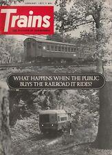 TRAINS Magazine Volume 31 Number 3 January 1971