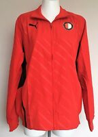 FEYENOORD RED WALK OUT JACKET BY PUMA SIZE ADULTS MEDIUM BRAND NEW WITH TAGS