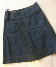 Hobbs Denim Skirt Size 8