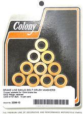 Banjo Bolt Crush Washers 10mm Colony 2206-10