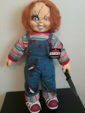 New Life Full Size Chucky Good Guys Child's Play Doll Horror Collectible Figure