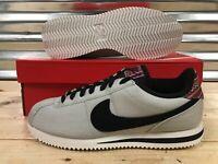 Nike Cortez Basic SE Retro Shoes Pale Grey Summit White Black SZ ( 902803-001 )