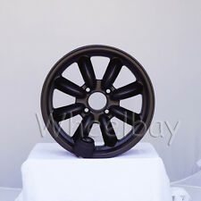 4 PCS ROTA RB WHEELS 16X7 4X114.3 +4 FLAT BLACK BIG CAPS LAST SET
