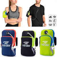 Men Women Jogging Cycling Sports Wrist Arm Band Mobile Cell Phone Pouch Bag 06US