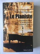 LE PIANISTE 2001 SZPILMAN DESTIN MUSICIEN JUIF GHETTO VARSOVIE 39 45 ILLUSTRE