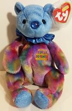 "TY Beanie Babies ""SEPTEMBER"" the HAPPY BIRTHDAY Teddy Bear - MWMTs! PERFECT GIFT"