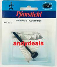 SC-3 Stylus Brush BEST PRICED Carbon Fiber Bristle Record Needle Cleaner BRUSH