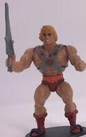 Vintage 1981 Masters of the Universe Near Complete Figure MOTU He-Man Soft Head
