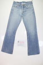 Lee Denver Bootcut (Cod. D1593) Tg44 W30 L34 jeans usato ACCORCIATO Vintage