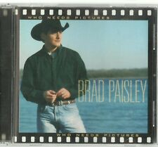 BRAD PAISLEY WHO NEEDS PICTURES CD
